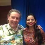 With Courtney Smith