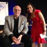 With Gerry Robert